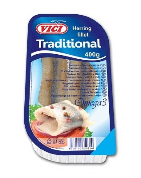 VICI Herring Fillets Traditional 400g