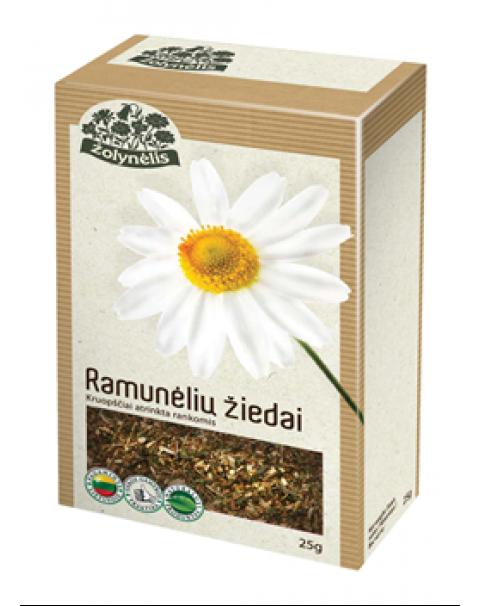 Чай Травяной Ромашка 25г / Žolelių Arbata ŽOLYNĖLIS (RAMUNĖLIŲ ŽIEDAI), 25 G