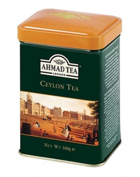 """Чай """"AHMAD TEA"""" Английский Завтрак, Листовой (100г X 12) (Металлическая Банка)"""