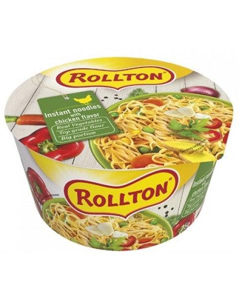 "Pasta, Luxury Noodle With Chicken Flavour ""Rollton"" - 75g"
