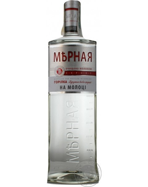 Водка Мерная На Молоке 0.5L 40%