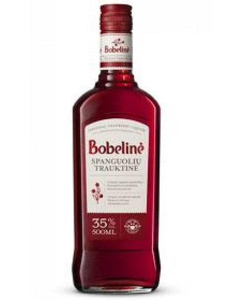 Bobeline Spanguoliu Lithuanian Liqueur / Литовский Клюквенный Ликёр Бобялине 0.5