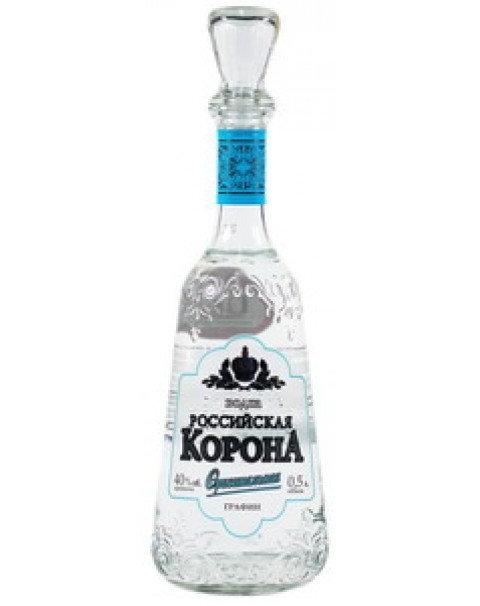 """Водка """"Российская Корона Оригинальная"""" 0.5L 40%"""