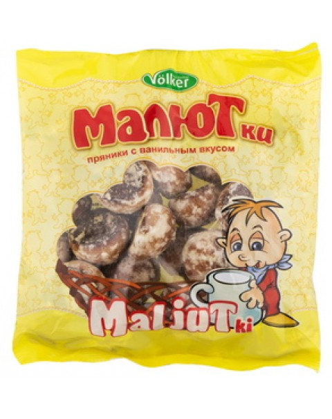 "Gingerbread ""Malyutki"" With Vanilla Flavour/ Пряники ""Малютки"" Ванильные 400g"