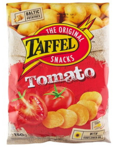 Crisps With Tomato, Taffel - 150g