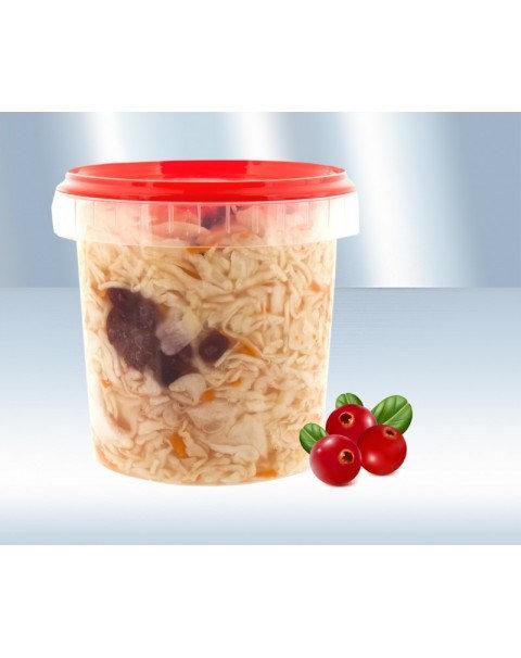 Капуста Квашеная С Клюквой 0.900kg / Sauerkraut With Cranberries 900g.