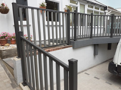 Composite balustrade - Westbourne