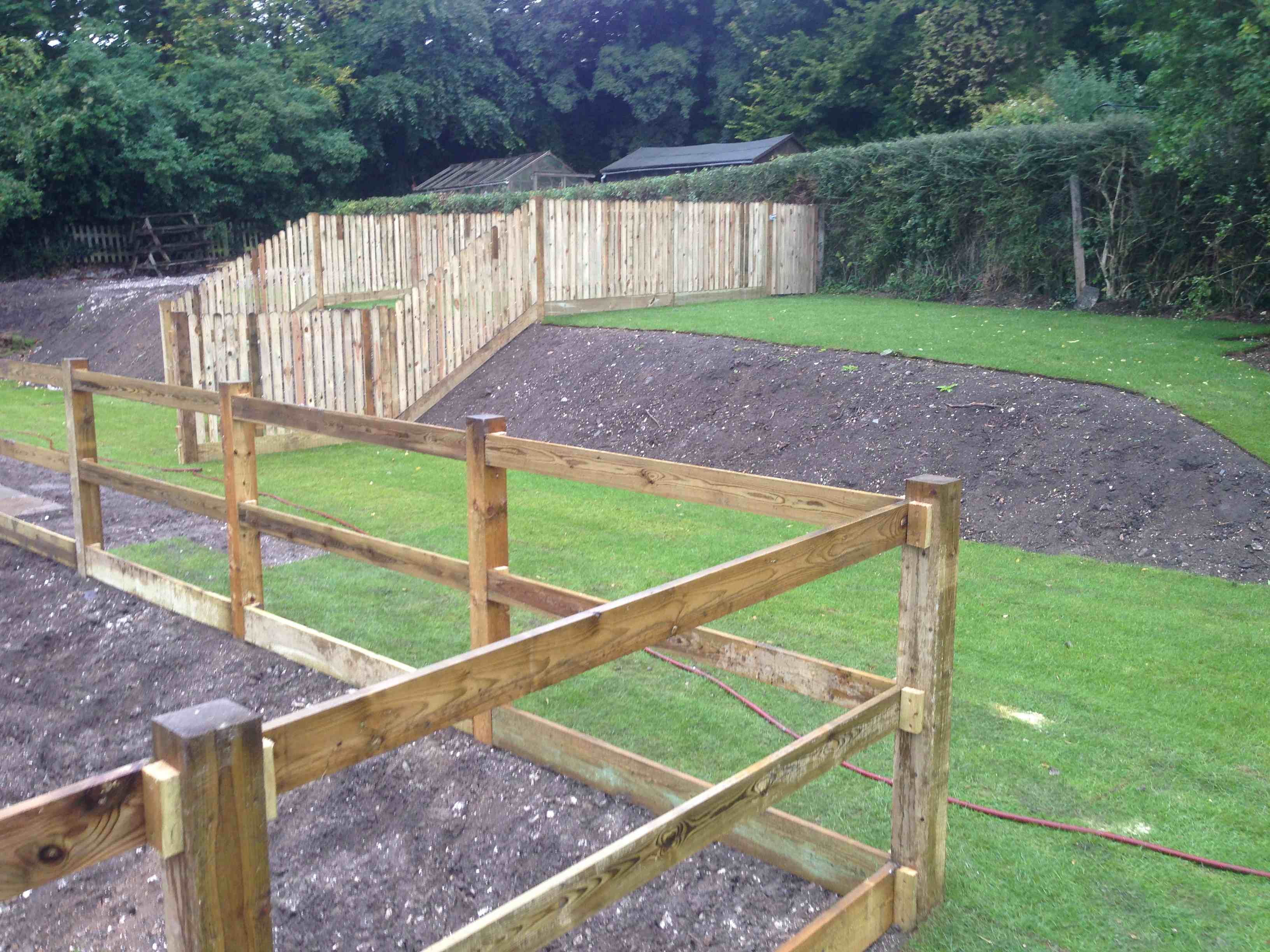 Fencing - New development