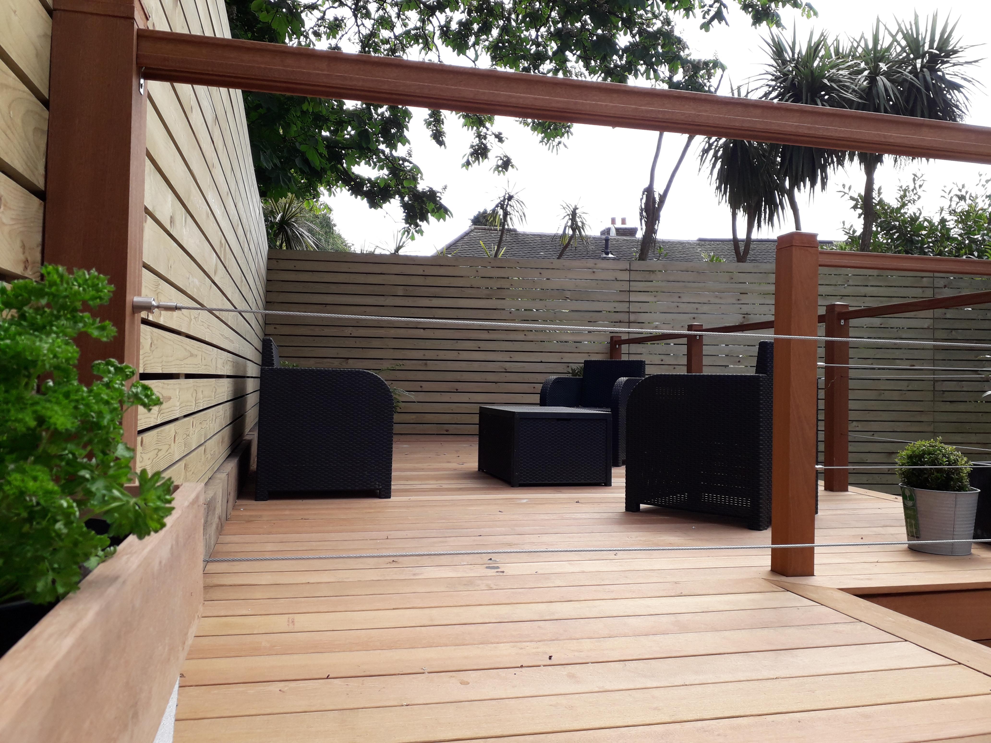 Hardwood deck - Bournemouth