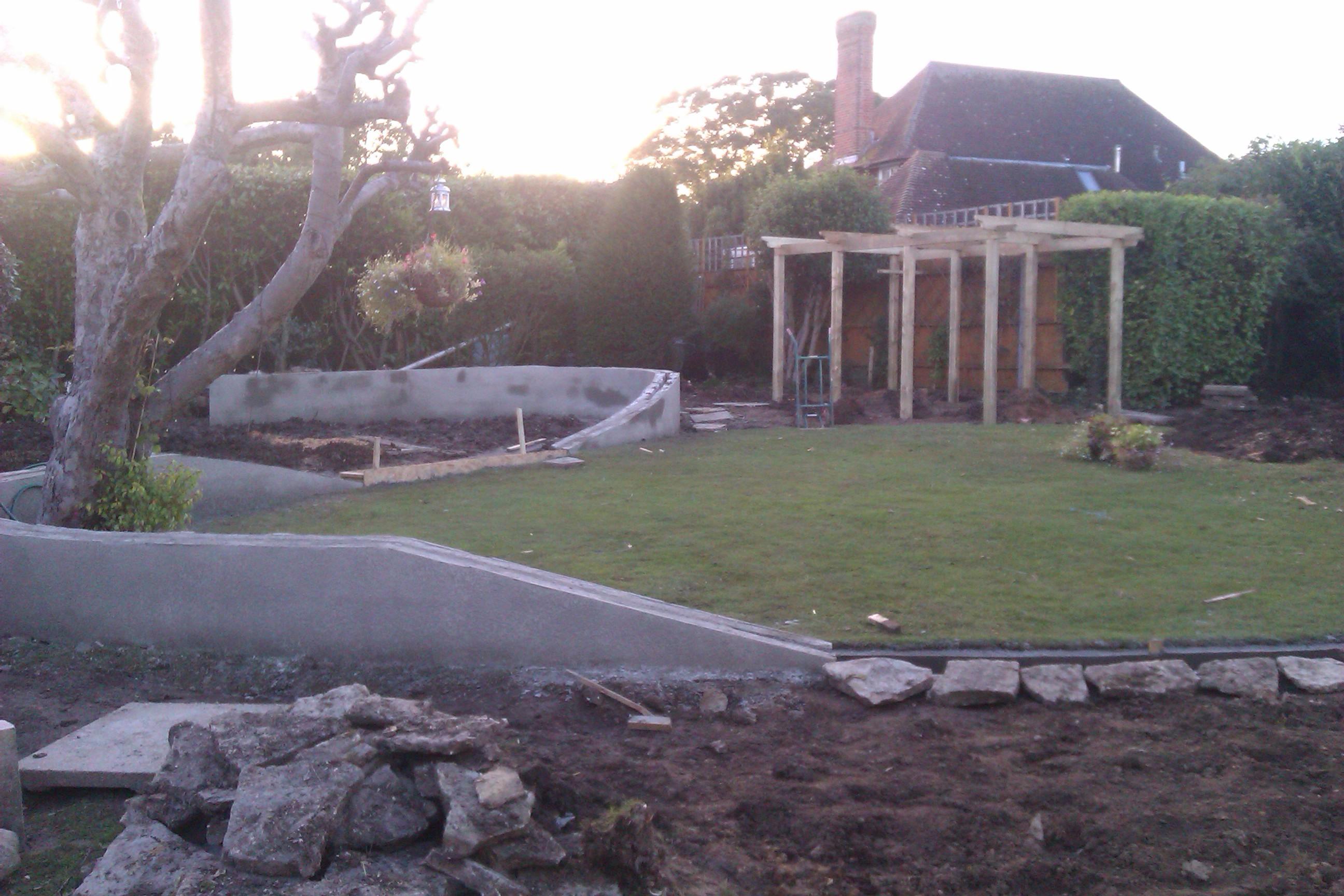 Re-design/landscape - Highcliffe