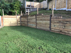 Retaining wall - Poole