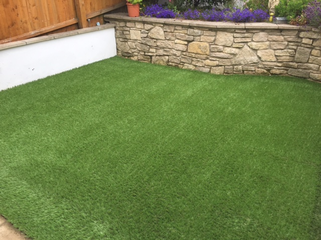 Artificial grass - Swanage