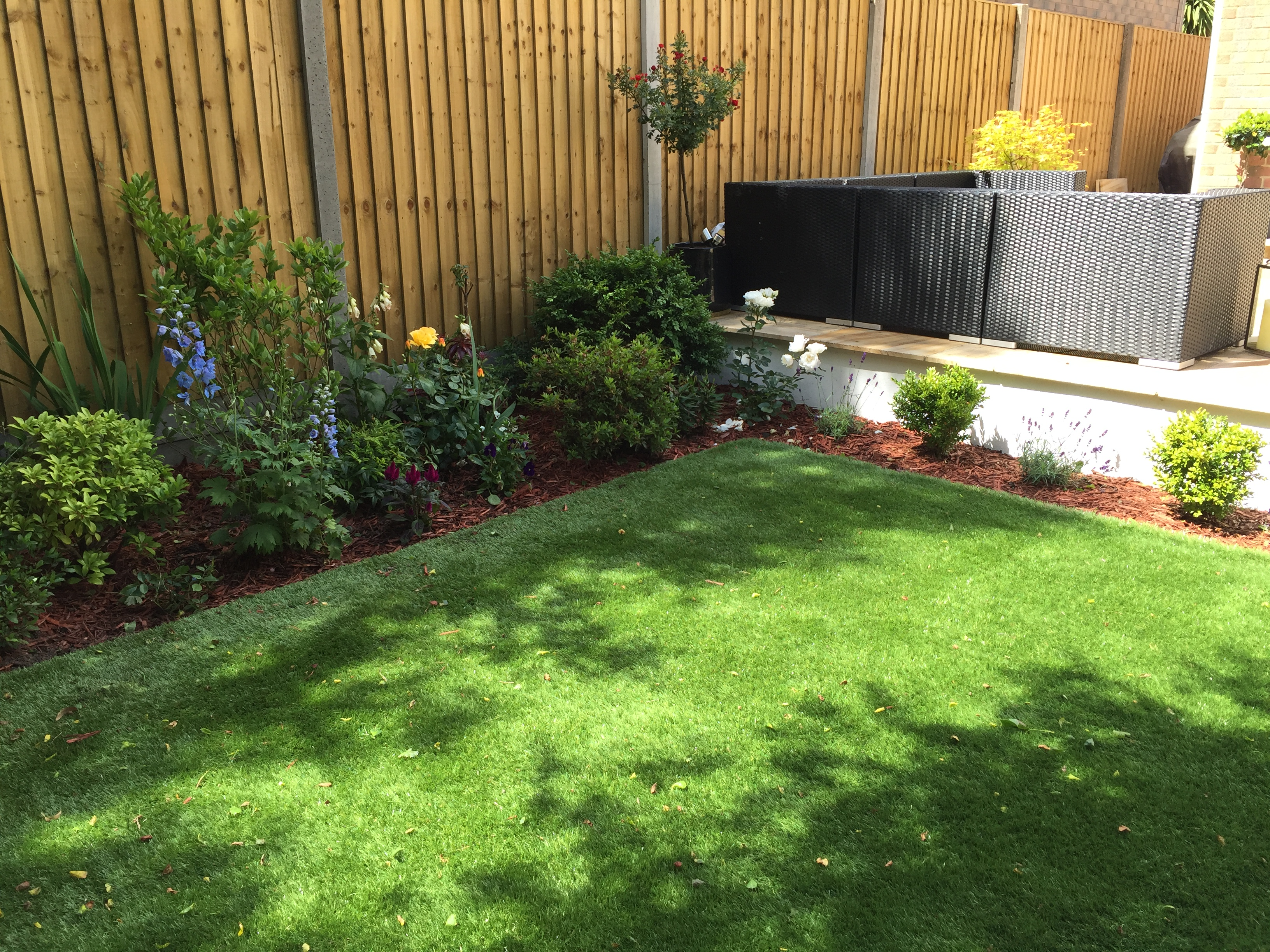Artificial grass - Canford Heath