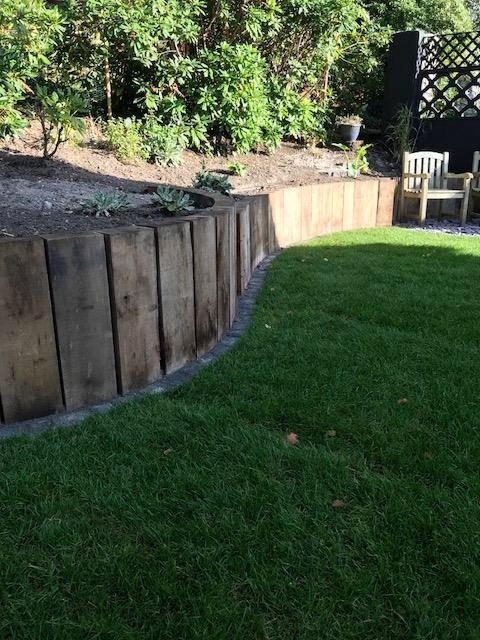 Oak wall - Christchurch