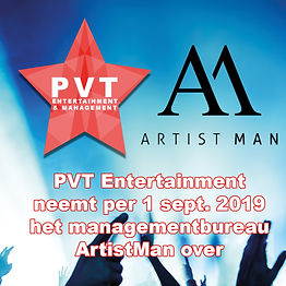 PVT Entertainment & Management neemt ArtistMan over