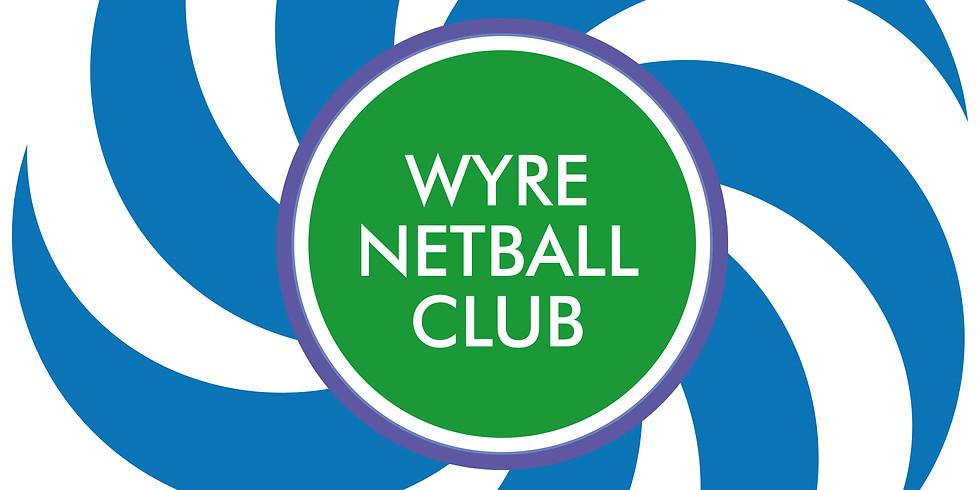 Wyre Netball Club Performance Preparation Camp (u12-u16)