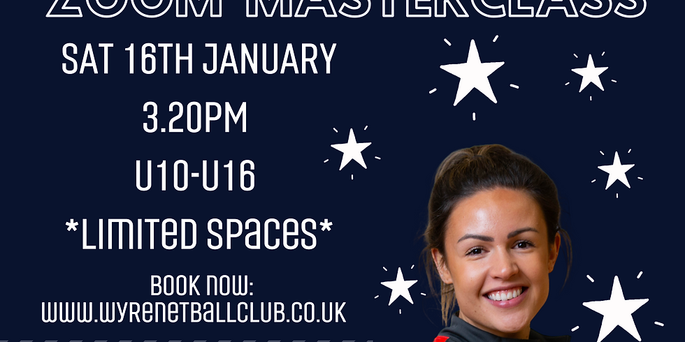 Yazz Parsons Zoom Netball Session
