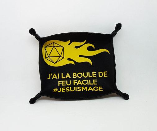 """Piste à dés """"#jesuismage"""" jaune"""