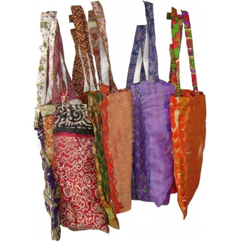 Boodschappentas viscose sari