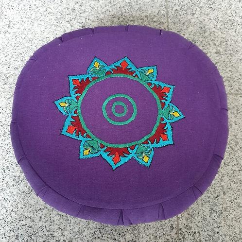 Meditatiekussen chakrakleuren