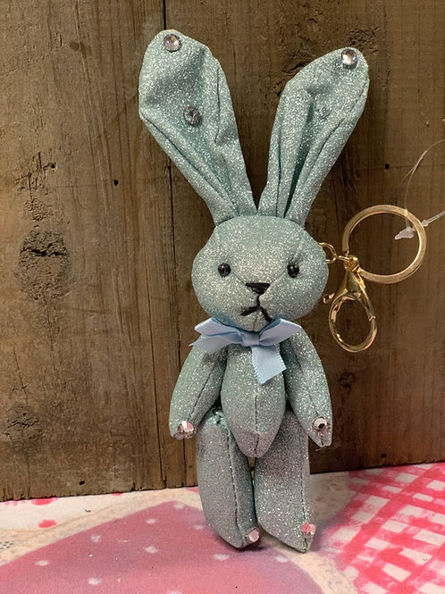 Knuffel/sleutelhanger konijn