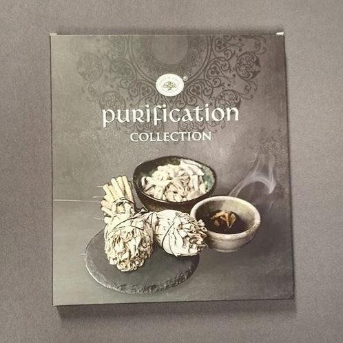 Giftset wierook Purification
