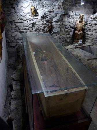 Mumie in der Stephanskirche