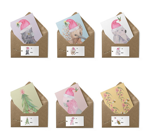 Christmas Gift Tags and Card pack