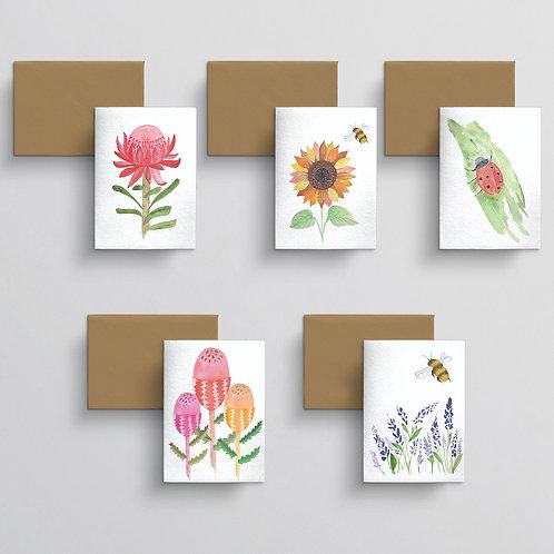 10 Card pack - Flora