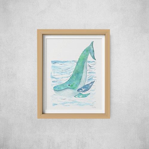 Wholesale Whale Print RRP $40