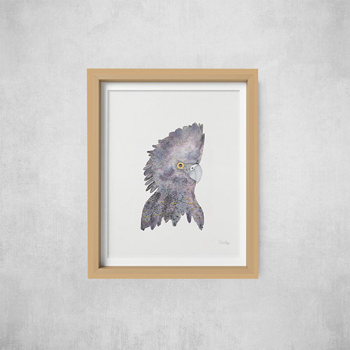 Black Cockatoo Print