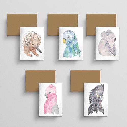 10 Card pack - Fauna