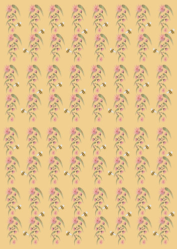 Wholesale Bee and Gum Wrapping paper RRP $7.00