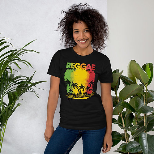 Island Reggae Short-Sleeve Women's  T-Shirt