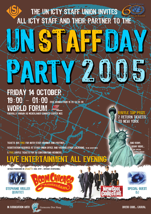 UN Staff Day Party 2005