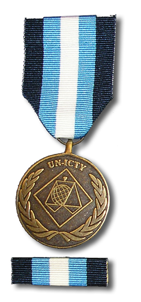 Official ICTY Service Medal Ceremony