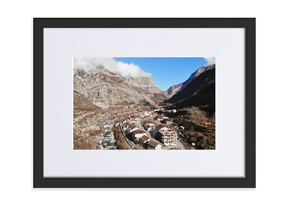 Tamare Albania Matte Paper Framed Poster With Mat