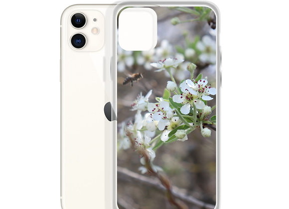 Bee Pear Bloom iPhone Case