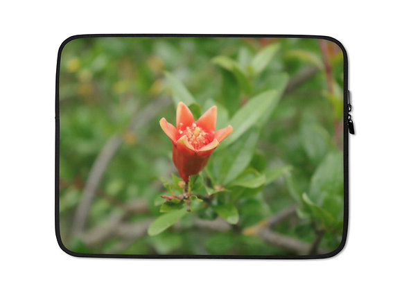 Pomegranate Bloom Laptop Sleeve