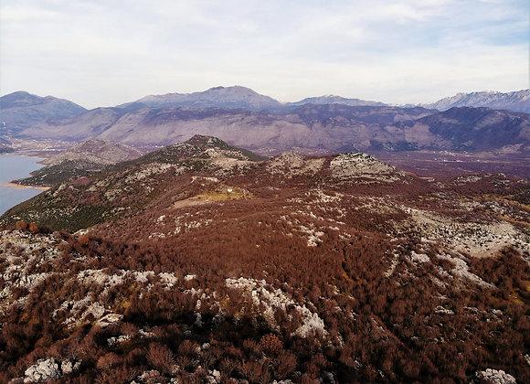 Mount Veleçikut with Valley