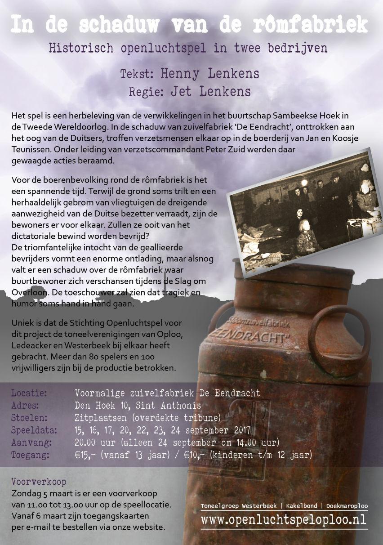 Download flyer In de schaduw van de rômfabriek