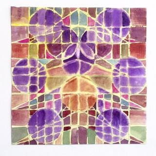 Purple composition, 2018