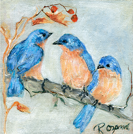 192 Trio of Bluebirds.tif