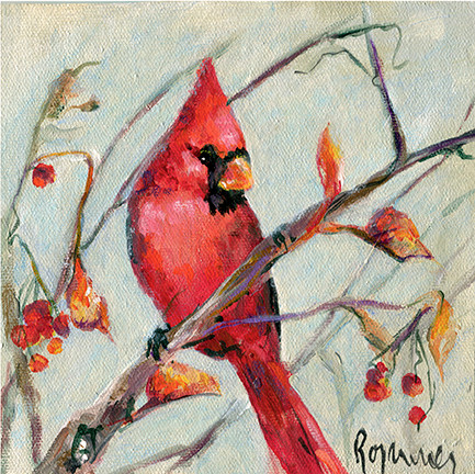 193 Cardinal in Fall Tree.jpg