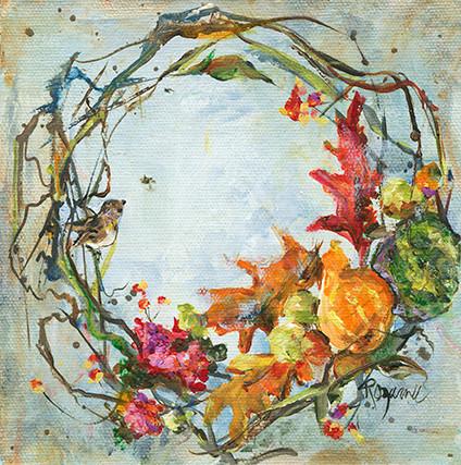 282 fall wreath with gourds 6x6.jpg