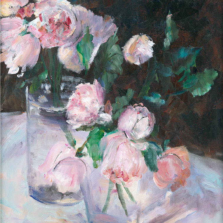 248 pink roses in glass vase 12x16.jpg