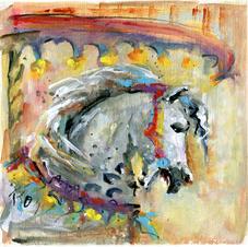 879 Gray Carousel Horse.jpg