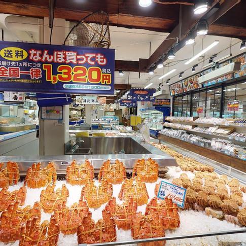 6. 海鮮市場 北のグルメ