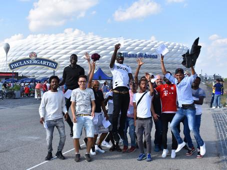 Gemeinschaftsausflug Fußballprojekt