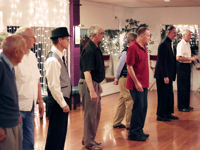 Lining Up For Dance Instructions